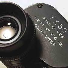 magnifying binoculars
