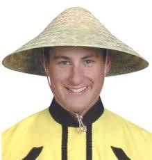 chinese straw hat