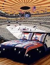 boys hockey bedroom