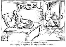 nursing home cartoon