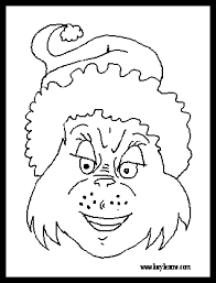 grinch coloring book