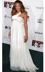 jennifer lopez white dress