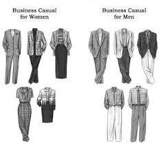 casual business wear