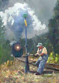 Brakeman by artist Will Enns, willenns.com