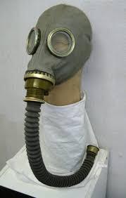 gas mask hose