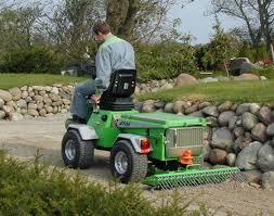 lawn mower rake