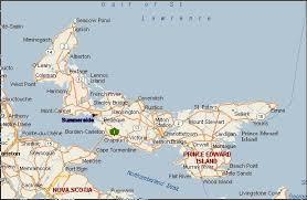 maps of pei