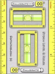 level ruler