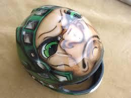 custom motorbike helmet