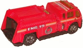 matchbox fire engine