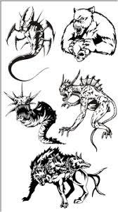 clip art monsters