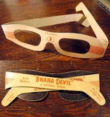 clear 3d glasses