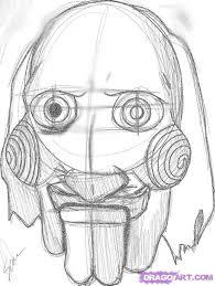 jigsaw puppet mask