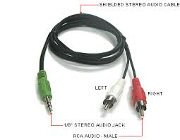 audio cable jacks