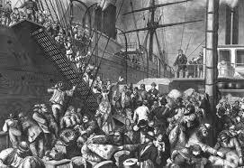 immigrants ship