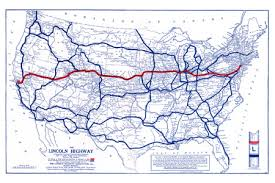 highway map of the united states