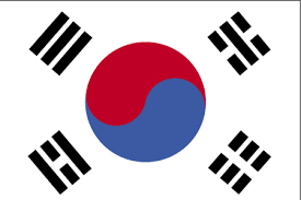 korea flags