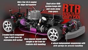rc nitro drifting cars