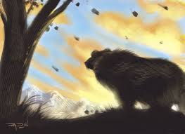 paintings of bears