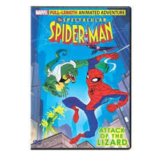spectacular spiderman attack of the lizard