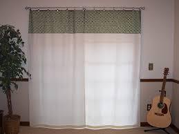 curtains sliding glass door
