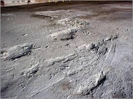 concrete surfaces