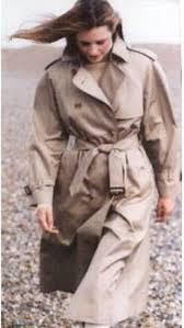 lady trench coat