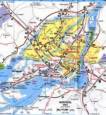 montreal area map