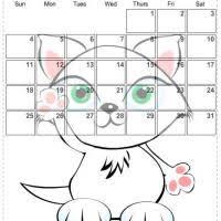cat calendar 2009