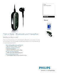 philips bluetooth headphone