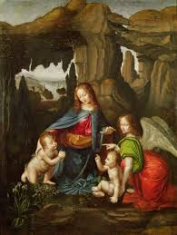 da vinci madonna of the rocks