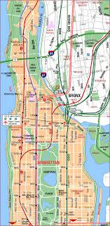 new york manhattan subway map