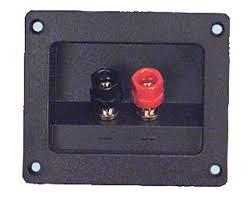 binding post speaker terminals