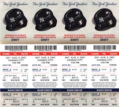 2009 yankees tickets