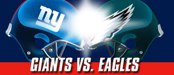 Giants V Eagles Game 1 2011