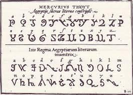 egyptian alphabets