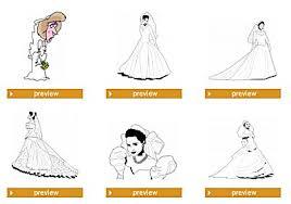 free wedding dress clip art