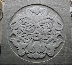 bas relief carving