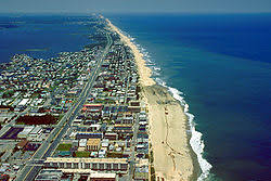 Aerial view of Ocean City,