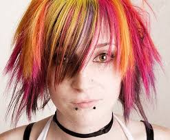 funky hair color pictures