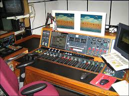 radio studio equipment