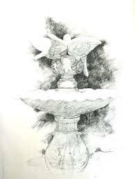 fountain drawing