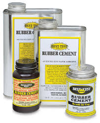best test rubber cement