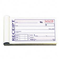 money receipt format