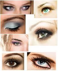 different eye make up