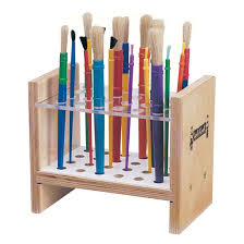 paint brush stand