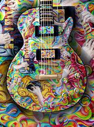 guitars paintings