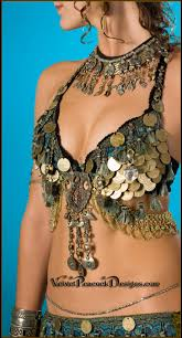 tribal belly dance costuming