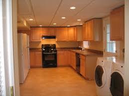kitchen in basement