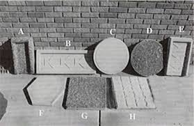 brick stepping stones